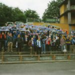 Polonia Świdnica - GÓRNIK. 18.09.1998r. - Nas około 150.