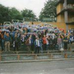 Polonia Świdnica - GÓRNIK. 18.09.1998r. - Nas około 150. II