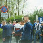 Grunwald Ruda Śląska - GÓRNIK. 05.05.2001r. - Nas 18 + 50 GKS Tychy + 4 Gwardia. II